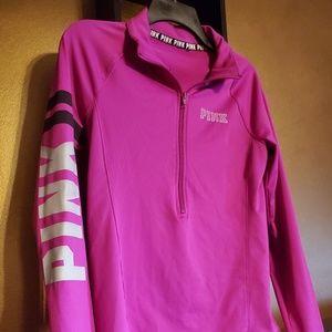 Victoria's Secret Pink Magenta Track Jacket